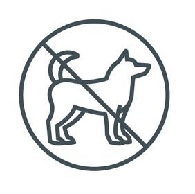 Hunde nicht erlaubt