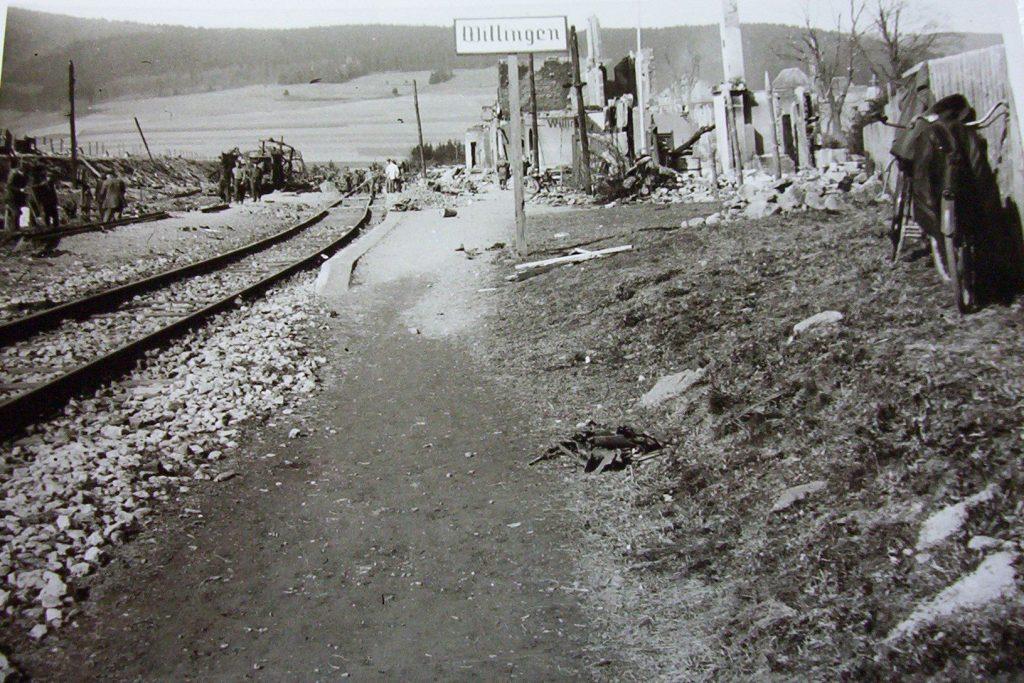bahnhof willingen 1945