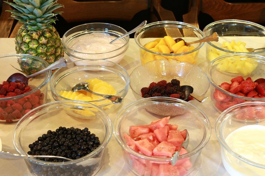 Frühstück Obst